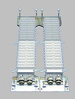 Кросс соединительный Krone, пар плинтов 600, настенный, 920х348х105 мм ВхШхГ