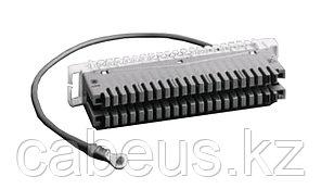 Плинт LSA Krone пар.38, заземления, с кабельным гнездом для подключения к штифту