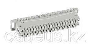 Плинт LSA Krone пар.10, с размыкаемыми контактами, маркировка для плинтов PLUS от 0...9