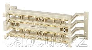 Кросс-панель Panduit PAN-PUNCH, 19, 2HU, 100x110, кат. 5е, универсальная, цвет: белый, с ножками, P110BW100-X