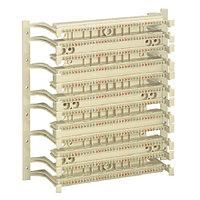 Кросс-панель Panduit GP6, 19, 2HU, 108x110, кат. 6, универсальная, цвет: белый, с ножками, GPBW432-X