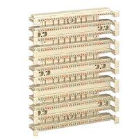 Кросс-панель Panduit GP6, 19, 6HU, 108x110, кат. 6, универсальная, цвет: белый, GPB432-X