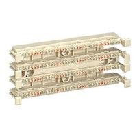 Кросс-панель Panduit GP6, 19, 2HU, 36x110, кат. 6, универсальная, цвет: белый, GPB144-X