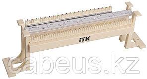 Кросс-панель ITK, настенная, 50x110, универсальный, цвет: слоновая кость, с модулями, CP50-110-1