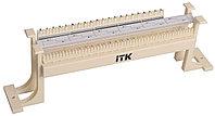 Кросс-панель ITK, настенная, 100x110, универсальный, цвет: слоновая кость, с модулями, CP100-110-1