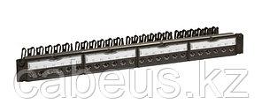 Коммутационная патч-панель телефонная Legrand, 19, 1HU, 48х RJ45, цвет: чёрный