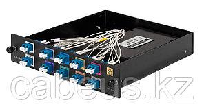 Бокс оптический Mikrotik, портов: 8, LC duplex, цвет: чёрный, CWDM-MUX8A