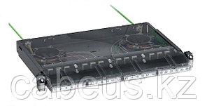 Бокс оптический Schneider Electric, портов: 12, SC, 1U, 490х300х45 ШхГхВ, цвет: серый, VDIG150991001