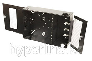 Бокс оптический Siemon SWIC3, портов: 96, SC, LC, ST, 515х160х350 ШхГхВ, цвет: чёрный, SWIC3G-E-AA-01