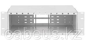 Бокс оптический Nikomax NMF, портов: 192, LC, 384 хОВ, 3U, 129х215х482 мм ВхШхГ, цвет: серый,