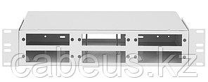 Бокс оптический Nikomax NMF, портов: 96, LC, 192 хОВ, 2U, 86х215х482 мм ВхШхГ, цвет: серый,