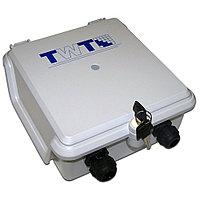 Бокс оптический TWT, 220х192х87 мм ВхШхГ, цвет: светло-серый, TWT-DB10-5P/OUT