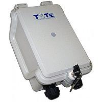 Бокс оптический TWT, цвет: светло-серый, TWT-DB10-1P/OUT