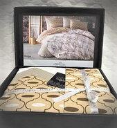 Семейный комплект постельного белья Lavilla, люксовый Поплин, фото 3