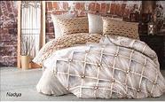Семейный комплект постельного белья Lavilla, люксовый Поплин, фото 6