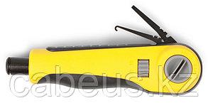 Инструмент для зачистки витой пары Hyperline, IDC 110/ 66/ 88/ Dual, плинты телефонные/ LSA, HT-3640R