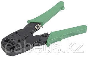 Инструмент для обжима проводников ITK, RJ-45 8P8С, RJ-12 6P6С, без храп.механизма, зеленый, TM1-G10V
