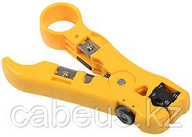 Инструмент для разделки и зачистки ITK, для коаксиального кабеля RG-59/58/11/6, профессиональный, на