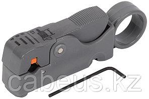 Инструмент для разделки и зачистки ITK, для коаксиального кабеля RG-59/58/11/6, профессиональный, на D=4-12мм,