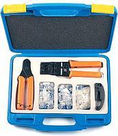 Набор инструментов Hyperline, RJ-45 8P8С, RJ-12 6P6С, HL-NTK100