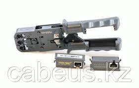 Инструмент для обжима проводников Hyperline, RJ-45, RJ-12, RJ-11 8P8C, 6P6C, 6P4C, 4P4C, профессиональный,