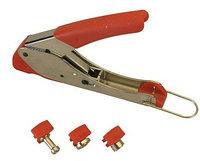 Инструмент опрессовочный для компрессионных разъемов Hyperline, F, BNC, RCA RG-59, RG-6, HT-H518E201