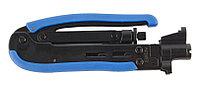 Инструмент опрессовочный для компрессионных разъемов Hyperline, F/ RG-59, RG-6, RG-11, HT-H548A1