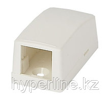 Коробка для настенного монтажа Panduit Mini-Com, внешняя, 23х25,6х48 мм ВхШхГ, 1 модуль, цвет: белый