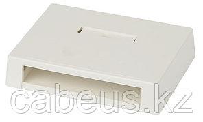 Коробка для настенного монтажа Panduit Mini-Com, внешняя, 26,5х126х96 мм ВхШхГ, 6 модулей, цвет: белый