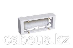 Коробка открытого монтажа Schneider Electric, 80х195х40 мм ВхШхГ, цвет: белый