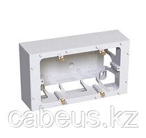 Коробка открытого монтажа Schneider Electric, 80х140х40 мм ВхШхГ, цвет: белый