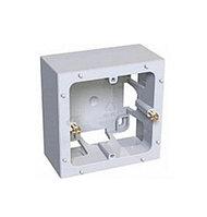 Коробка открытого монтажа Schneider Electric, 80х80х40 мм ВхШхГ, цвет: белый