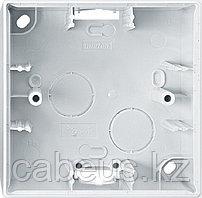 Коробка открытого монтажа Merten M-Elegance, 1 модуль, цвет: полярно-белый