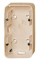 Коробка открытого монтажа Legrand Valena Allure, внешняя, 160х89х44,8 мм ВхШхГ, с крепежными винтами, 2