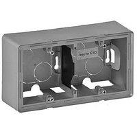 Коробка открытого монтажа Legrand Valena Life, внешняя, 89х160х44,8 мм ВхШхГ, с крепежными винтами, 2 модуля,