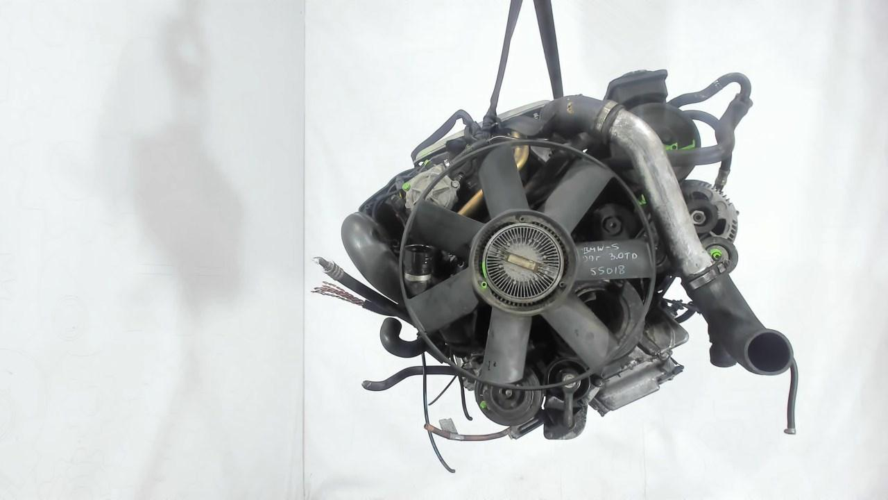 Двигатель (ДВС) BMW 5 E39  3 л Дизель