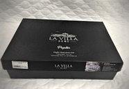 Комплект постельного белья Lavilla, люксовый поплин, полуторка, фото 3