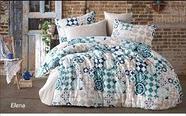 Комплект постельного белья Lavilla, люксовый поплин, полуторка, фото 4