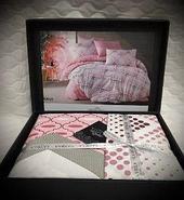 Комплект постельного белья Lavilla, люксовый поплин, полуторка, фото 6
