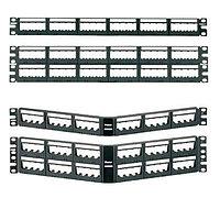 Коммутационная патч-панель Panduit, 19, 1HU, портов: 24хMini-Com, порты в 1 ряд, цвет: чёрный, UICMPPA24BLY