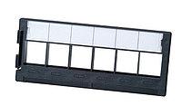 Планка AMP, 19, 1HU, портов: 6хуниверсальный, кат. 6, неэкр., встраиваемый, цвет: чёрный, 0-2111117-1