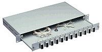 Коммутационная патч-панель Nexans LANmark Industry, для монтажа на DIN-рейку, портов: 6 х snap-in, кат. 6, универсальная, цвет: чёрный, размеры вхшхг: