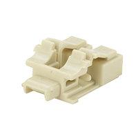 Блокирующее устройство Panduit, 1хLC, экр., 10 шт, цвет: слоновая кость, с ключом черного цвета, PSL-LCAB-EI