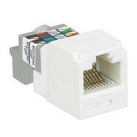 Модуль универсальный Panduit Mini-Com, 1хRJ458P8C, 90°, кат. 6, 250 Мгц, неэкр., цвет: белый, CJ688TPWH