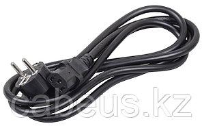 Силовой шнур ITK, IEC 320 C13, вилка Schuko, 2 м, 10А, цвет: чёрный