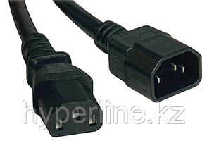 Силовой шнур ITK, IEC 320 C13, вилка IEC 60320 С14, 5 м, 10А, цвет: чёрный
