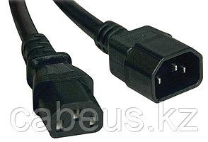 Силовой шнур ITK, IEC 320 C13, вилка IEC 60320 С14, 2 м, 10А, цвет: чёрный