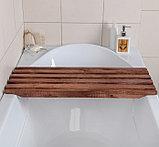 Решетка деревянная на ванну, фото 2