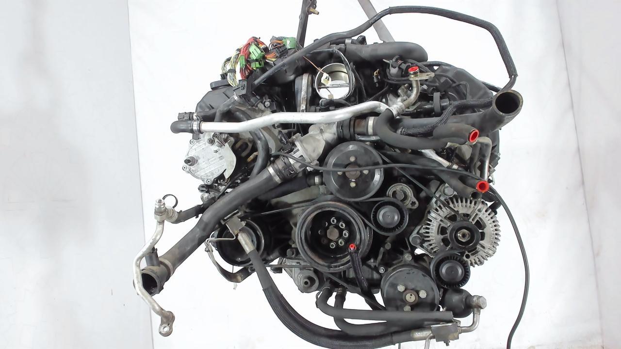 Двигатель (ДВС) BMW 5 E60  4.8 л Бензин