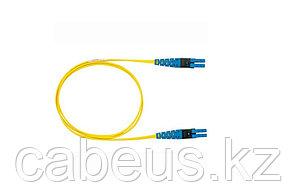 Коммутационный шнур оптический Panduit PanView IQ, Duplex LC/LC, OS2 9/125, LSZH, 1м, цвет: жёлтый,